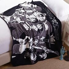 Anime One Piece Luffy Chopper Soft Warm Coral Fleece Plush Throw Blanket #B543