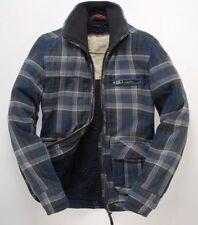 Superdry Zip Waist Length Collared Men's Coats & Jackets
