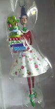 Rubber Stamp Star Flake Christmas Ornament/ Anne Keenan Higgins Ornament Stamp