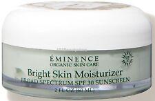 Eminence Bright Skin Moisturizer SPF 30 Sunscreen ( 2oz / 60ml) FREE SHIPPING