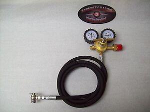 Nitrogen Regulator Shock Fill Kit 8' Hose 400 PSI No Loss Chuck Tool FOX King