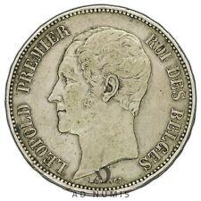 5 francs 1853 Mariage du Duc et de la Duchesse de Brabant Belgique - Argent