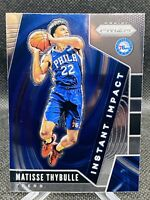 Matisse Thybulle 2019-20 Panini Prizm Instant Impact Rookie Card 76ers NBA