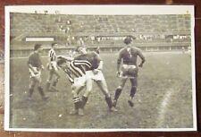 FOTO JUVENTUS-FIORENTINA 3-2 del 22/10/1939 con data e Timbri al retro* - RARA