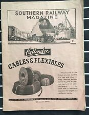 Sept 1944 Southern Railway Mag  ft funded SPITFIRE Invicta Fairey, Social hist