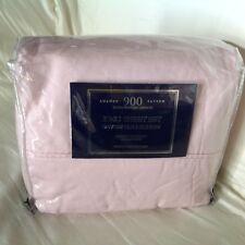 Luxury Sateen Devon Collection Sheet Set 900Tc 4pc King Pink Retail $190