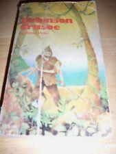 ROBINSON CRUSOE BY DANIEL DEFOE (PAPERBACK 1964) SCHOLASTIC