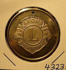 Lions Club Medal