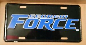 ARENA FOOTBALL GEORGIA FORCE METAL LICENSE PLATE / TAG