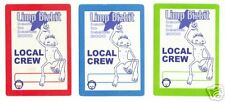 LIMP BIZKIT - BACKSTAGE PASS PASSES- 3 SELF ADHESIVE CLOTH PATCHES