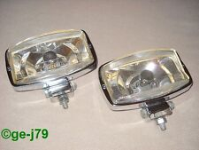 ZED 1000 Set JDM 1970s Driving Lamps H1 Japanese Classic Aux Lights Ex Used Cond