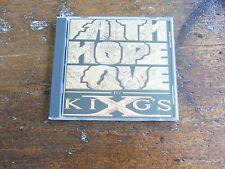 Faith Hope Love by King's X (CD, Oct-1990, Megaforce) Rare!