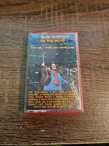 SLIM DUSTY ON THE MOVE CASSETTE TAPE With The Travelling Country Band 12 Songs