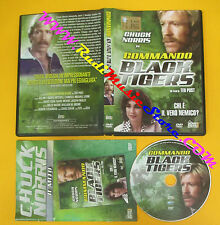 DVD film COMMANDO BLACK TIGERS 2010 Chuck Norris Ted Post no vhs (D7)