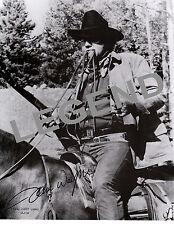 "John Wayne  ""TRUE GRIT""     8x10 B & W  AUTOGRAPHED Reprint JW-36"