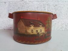 """BEAUTIFULLY HAND-PAINTED VINTAGE METAL STRAINER/SIFTER """"THE UNIVERSAL"""""""