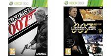 JAMES BOND  007 LEGENDS & BLOODSTONE    xbox 360 pal