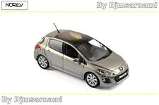 Peugeot 308 de 2011 Vapor Grey NOREV - NO 473807 - Echelle 1/43
