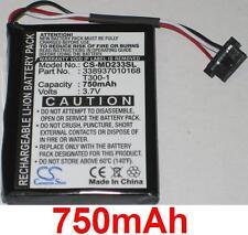 Batterie 750mAh type 338937010168 T300-1 Pour Medion GoPal E4430