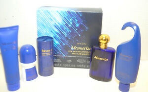 AVON Mesmerize Original Formula For Men 5 Pcs Gift Set Cologne, Aftershave, Deo
