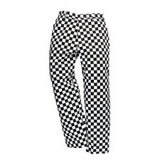 PortWest Men Harrow Chefs Trousers Chessboard/Houndtooth Various Size S068