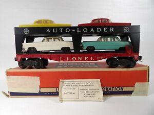 Lionel O Post war Auto-Loader Car Transport # 6414