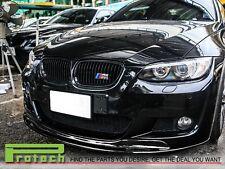 07-09 BMW E92 E93 M-Tech M-Sport Only Carbon Fiber AK Style Front Bumper Lip CF