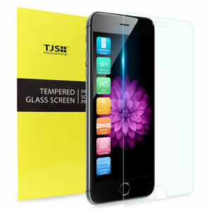 """TJS 9H Tempered Glass For iPhone XS Max Premium Clear Screen Protection 6.5"""" 1PC"""