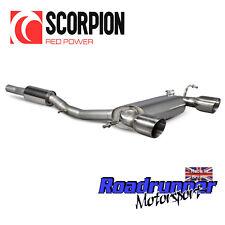 Scorpion Audi TT MK1 Quattro 3.2 V6 de acero inoxidable gato sistema de escape trasera res 2005