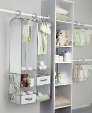 New ListingDelta Children 24-Piece Nursery Storage Set - Dove Gray -Nib!