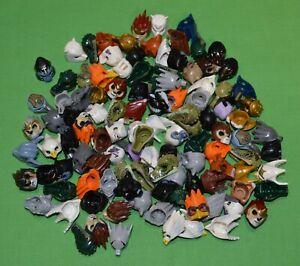 BULK LEGO MINIFIG HEADGEAR Lot of 115 CHIMA MINIFIGURE Hats HELMETS Auct 3 of 7