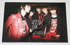 SHINee - 2009, Year Of Us (3rd Mini) CD+Photo Booklet [MINHO's AUTOGRAPHED]
