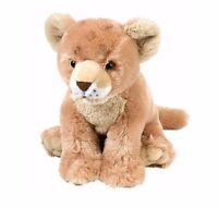 CUDDLEKINS LION CUB PLUSH SOFT TOY 30CM STUFFED ANIMAL BY WILD REPUBLIC