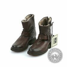 NEW Frye Valerie 6 Women's Shearling Boots in Dark Brown-75016 100% Leather - 8