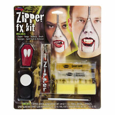 Blue Banana Zipper Vampire Face Paint Kit - Horror Fancy Dress, Costume Make Up