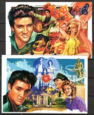 Mongolia - 1995 60th birthday Elvis Presley - Mi. Bl. 248-49 MNH