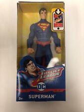"""Justice League DC Superman Action Figure 6"""" Plastic Kids Ages 3 & Up Mattel"""