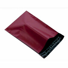 """200 BURGUNDY Mailing Postage Parcel Post Bags 4.5 x 6.5"""" Self Seal 120x170mm"""