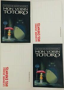 Carte Postale du Film MON VOISIN TOTORO / Hayao Miyazaki / Visuel Affiche