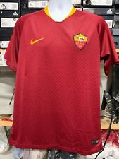 Nike as Roma Home Jersey 2018/19 Burgundy Stadium Cut CALCIO Size Medium Only