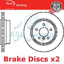 2 X Apec Bremsen 320mm Belüftet OE Qualität Ersatz Bremsscheiben Paar DSK2368