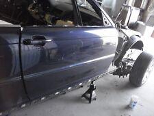 2001 BMW 325CI CONVERTIBLE RIGHT PASSENGER SIDE DOOR SHELL DARK BLUE