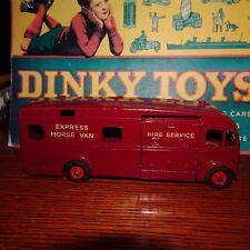 Dinky #980 Horse Van- Near Mint!