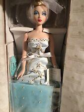 """16"""" Ashton Drake Gene Doll """"Breathless"""" Silky Blue Beaded Dress Blonde NRFB #I"""