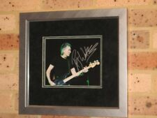 """PINK FLOYD - ROGER WATERS - SIGNED & CUSTOM FRAMED 8"""" X 10"""" PHOTO"""