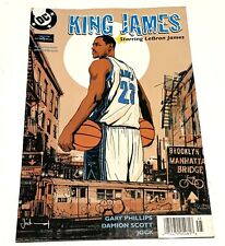 DC Comics King James Lebron James Powerade Comic Book Collectible Basketball NBA