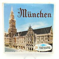 View-Master Packet # C420D München with 3 reels Belgium made Munchen viewmaster