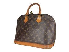 LOUIS VUITTON Alma Monogram Canvas Leather Hand Bag LH3509