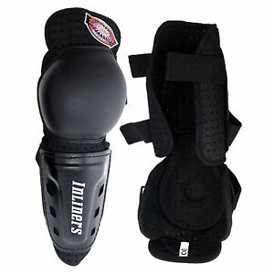 INLINERS ROLLER SKATES HOCKEY KNEE SHIN PADS WRAP GUARD HARD SHELL PROTECTION