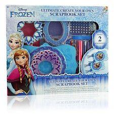 Disney Frozen Ultimate Create Your Own Scrapbook Set 4088FZ NIP